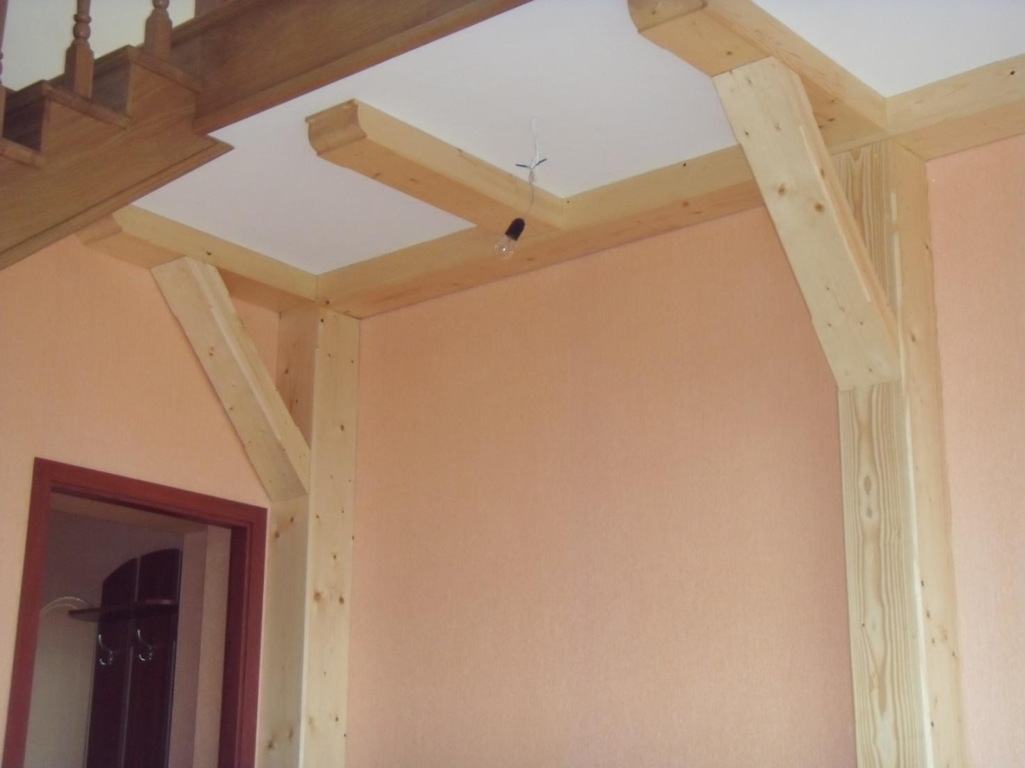 Оформлення інтер'єру деревиною