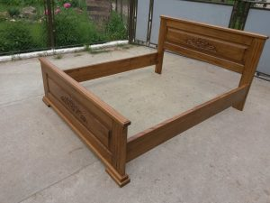 Дерев'яні ліжка